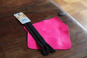"""""""Kit petite pochette Fluo rose"""" - Ma Petite Mercerie"""