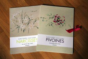 Marie-Thérèse de Saint-Aubin - Pivoines / Narcisses