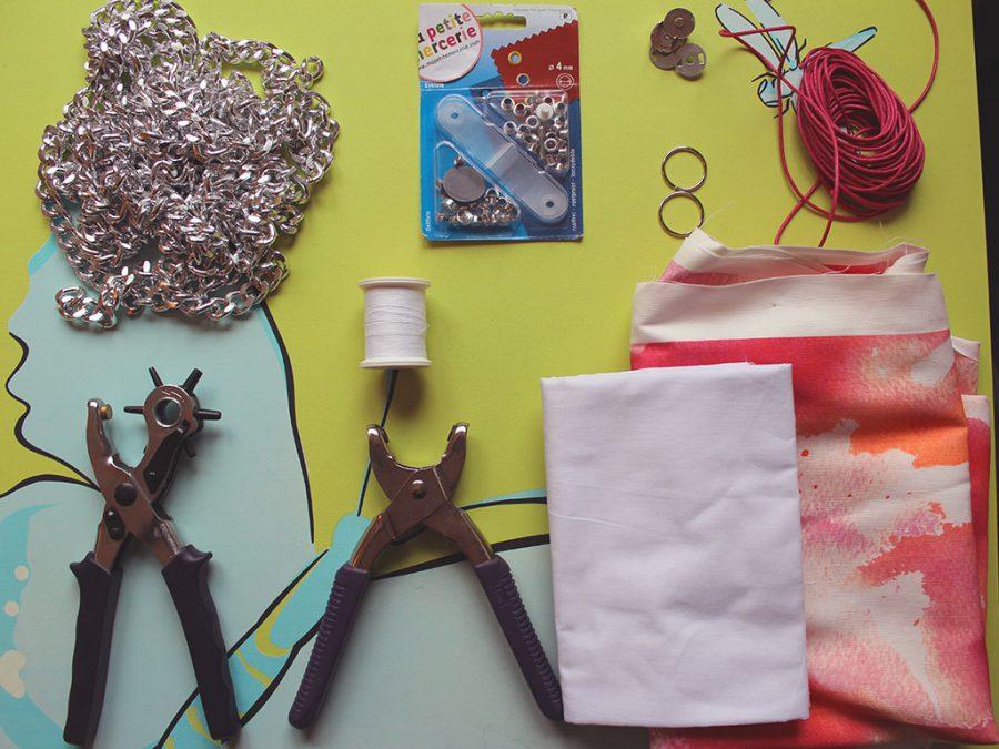 Fournitures - DIY : Sac inspiration Falabella