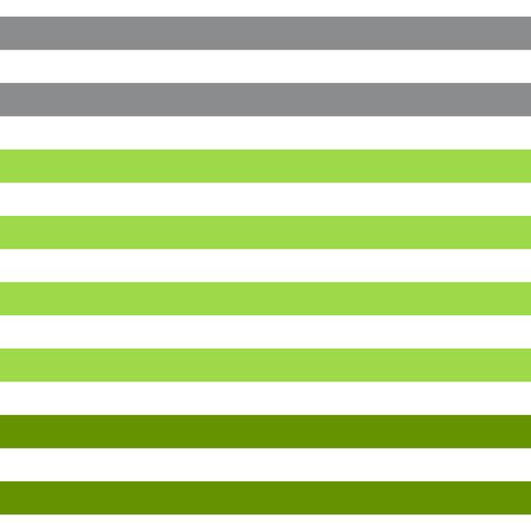 Dégradé de rayures - Vert