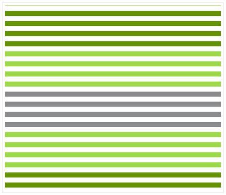 Dégradé de rayures - Vert - Spoonflower