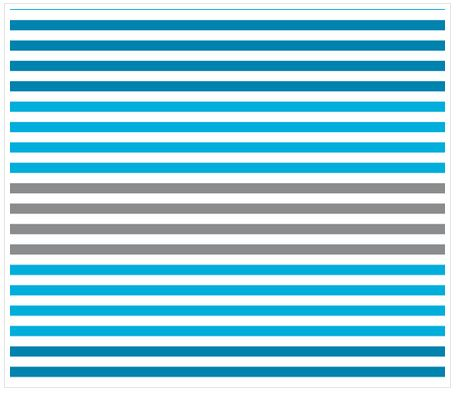 Dégradé de rayures - Bleu - Spoonflower