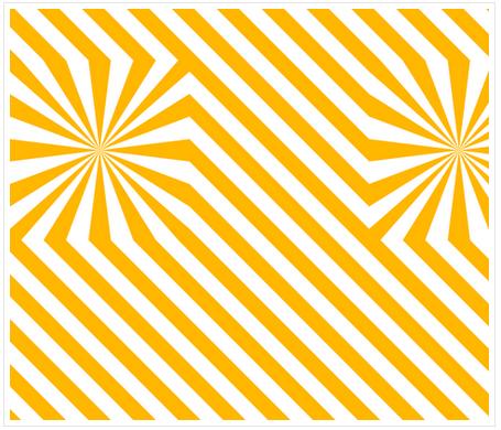 Explosion de rayures - Jaune - Spoonflower