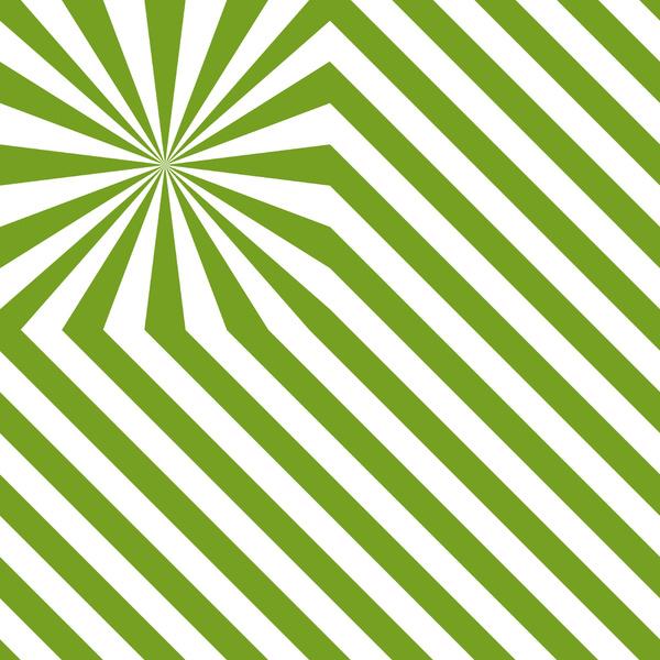 Explosion de rayures - Vert